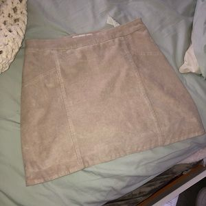 Abercrombie Suede Skirt